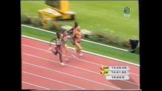 Marta Domínguez Vs Dibaba en los 5000m París 2003