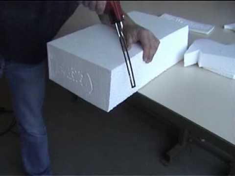 Sodifa esca coupe chaud polystyr ne youtube - Comment coller du polystyrene ...