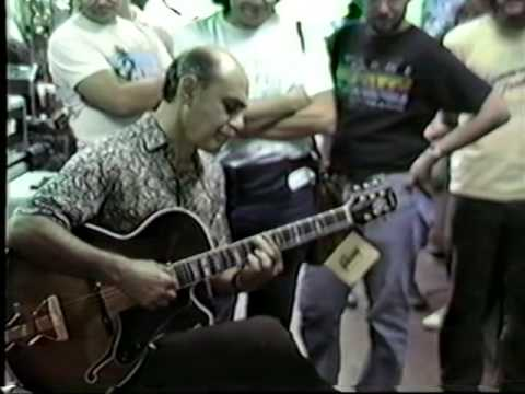 Joe Pass in Alex music store