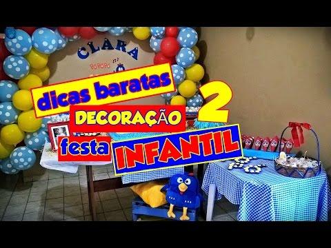 Dicas Baratas de Decoração para Festa Infantil  #2 - Galinha Pintadinha
