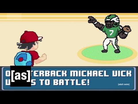 Michael Vick Joke | Robot Chicken | Adult Swim