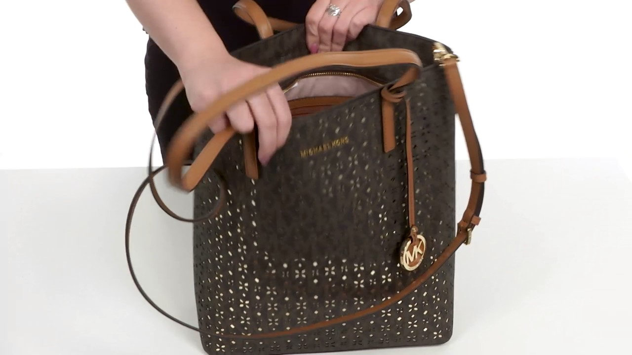 76e6afd7612e MICHAEL Michael Kors Hayley Large North South Top Zip Tote SKU 8903006