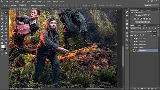 how to create flexible updatable composite images using smart objects in adobe photoshop