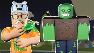 ROBLOX: THE OLD MAN TURNED INTO THE GOOD ZOMBIE! -Play Old man