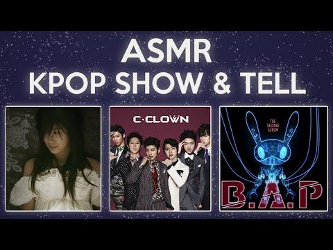 ASMR Kpop Show & Tell [BAP - Power, CClown - Shaking Heart, Zhang Li Yin - Timeless]