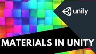 #5 MATERIALS IN UNITY  unity material color  material ui unity  materials for unity