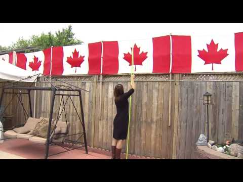 Woman Fined After Hanging Canadian Flags On Her Backyard Fence