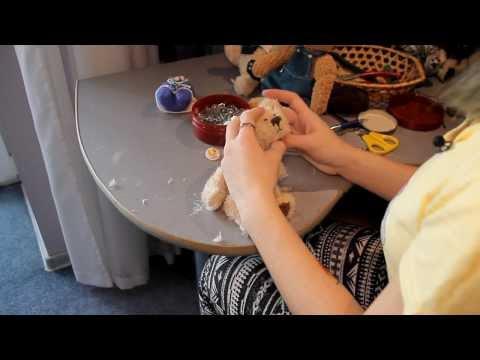 видео: u news. Как сделать плюшевого медведя собственными руками.