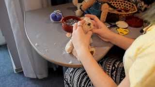 U News. Как сделать плюшевого медведя собственными руками.