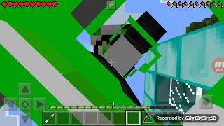 Eu quebrei a perna no Minecraft