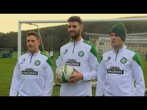 Celtic FC - Sky Sports Two-footed corner challenge