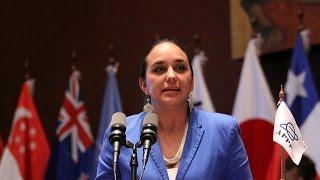 Gabriela Rivadeneira - Discurso de clausura - Foro Asia - Pacífico