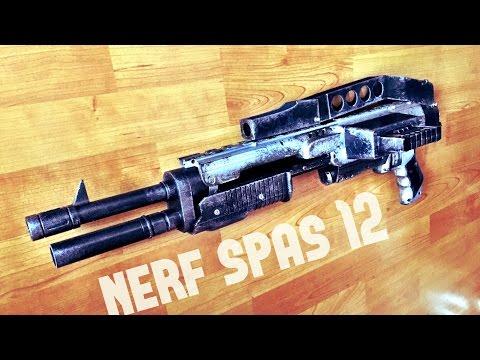 [COMMUNITY] Nerf Spas 12 Shotgun | Rampage Mod / Conversion Kit by TERIN