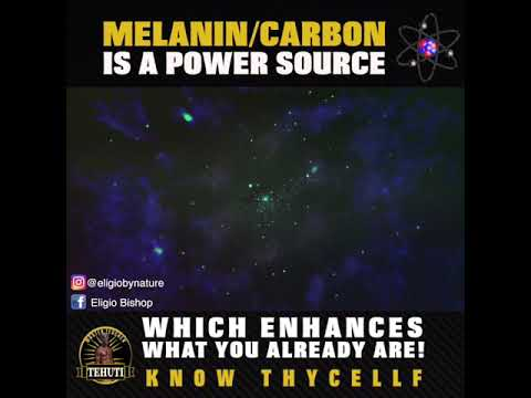 Melanin/Carbon is Just a Power Source