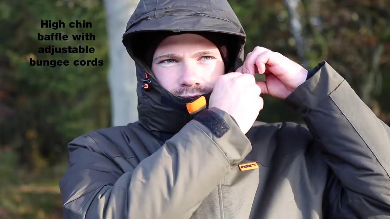 5b7f1a57a4 Fox Carp Thermo Winter Suit thermoruha szett (kabát + nadrág) - YouTube