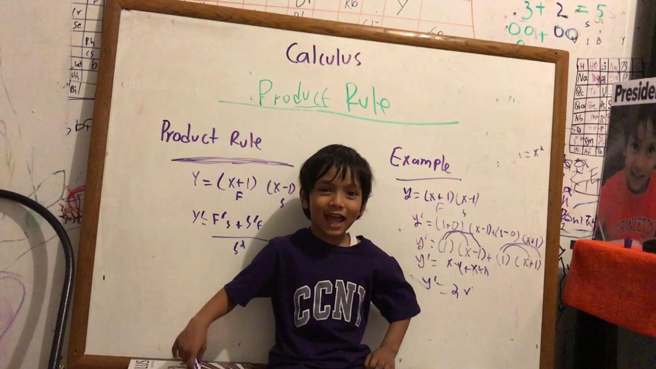 Calculus 1: Product Rule by Soborno Isaac