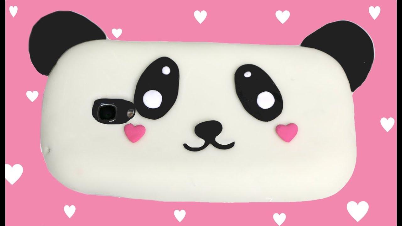 Diy funda para m vil de silicona de panda kawaii youtube - Como hacer fundas de silicon ...