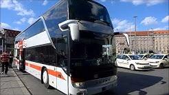 DB IC Bus von Nürnberg nach Prag (August 2016)