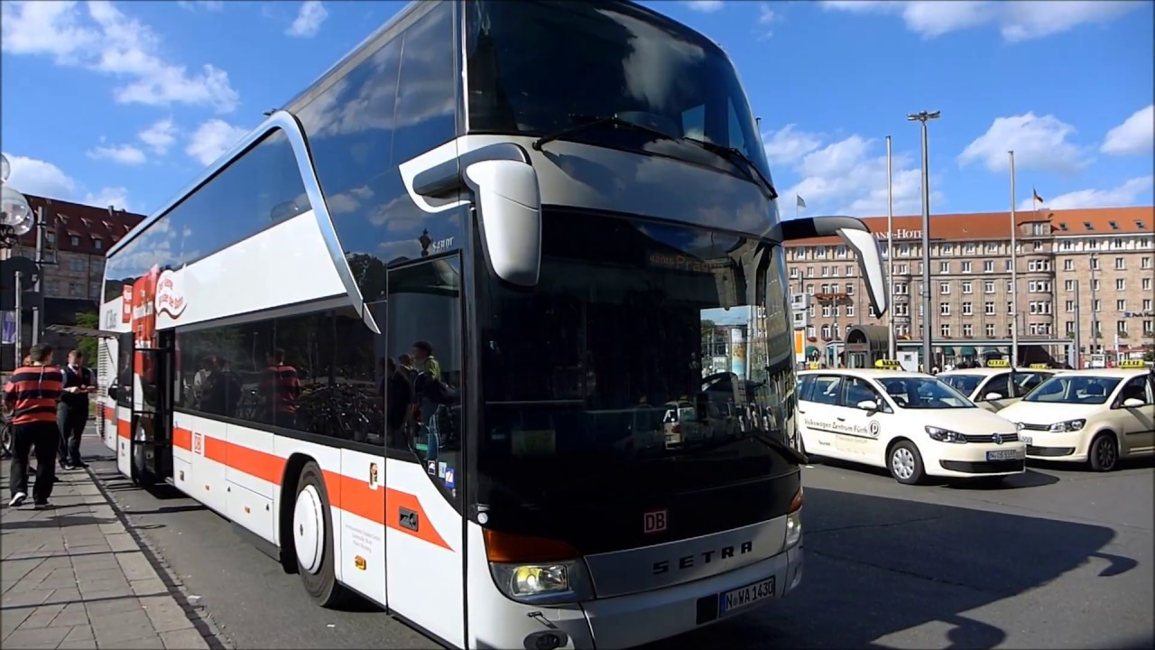 Db Ic Bus Von Nurnberg Nach Prag August 2016 Youtube