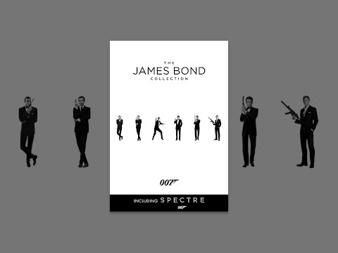 The James Bond Collection Including Spectre