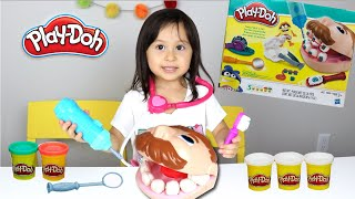 CHLOE BRINCA DE MASSINHA PLAY DOH! DOCTOR DRILL N FILL PLAYSET