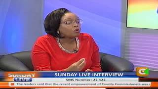 Sunday Live Interview With CS Phylis Kandie