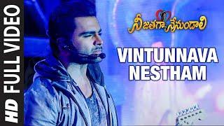 Full Video: Vintunnava Nestham | Telugu Nee Jathaga Nenundaali Movie | Sachin J Nazia H | Ankit T