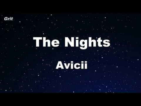 The Nights - Avicii Karaoke 【No Guide Melody】 Instrumental