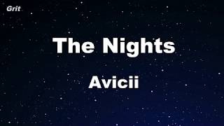 The Nights - Avicii Karaoke 【No Guide Melody】 Instrumental