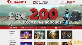 Flamantis Casino Video Review