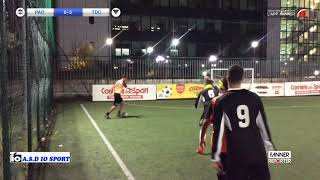 Partizan Degrado 3-7 Tdc | Io Cup - Gir.A 3ª | Highlights