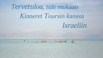 Kinneret Toursin matkalla Israelissa!