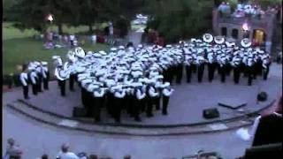 American Fork high school marching band- Salute to America