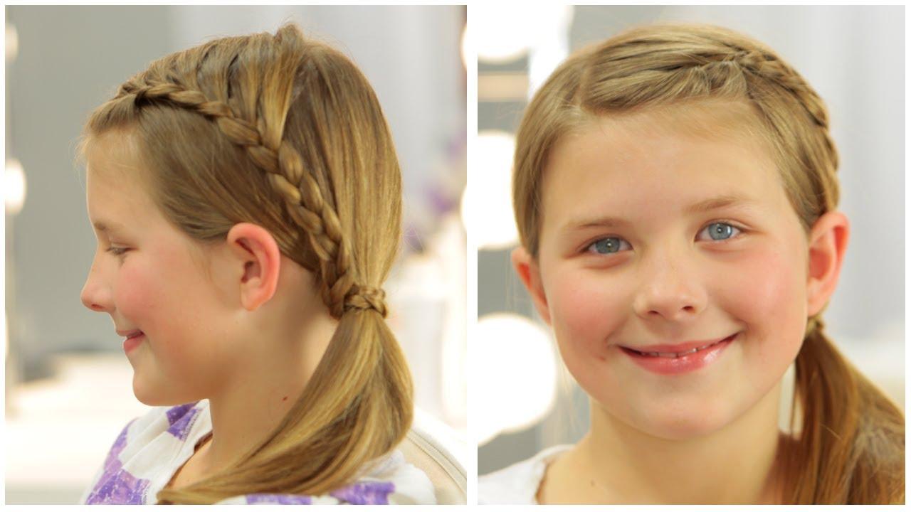 Little Girl Side Braid Youtube