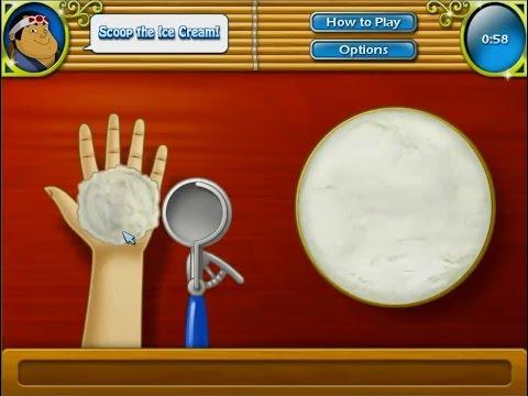 เกมทำอาหารญี่ปุ่น โมจิไอศครีม Mochi ice cream もちアイス Cooking Game