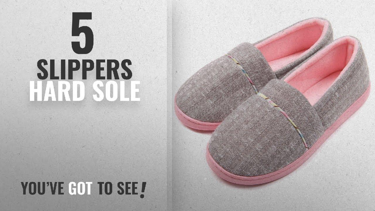 ad1657ff26f9 Top 5 Slippers Hard Sole  2018   ChicNChic Women Comfortable Cotton ...