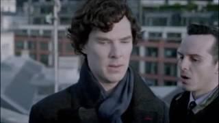 Sherlock Holmes VS Jim Moriarty - The Reichenbach Fall - Sherlock - BBC