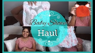 What I Got at My Baby Shower | Baby Shower Haul 2018 | Zen Chini Vlogs