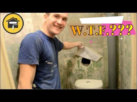 Ремонт ванной комнаты в Казани \ Ремонт туалета \ Ремонт квартир в Казани