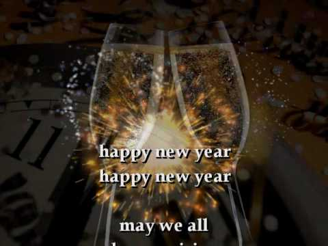 HAPPY NEW YEAR, ABBA (with lyrics) editing:Petra Kroon ...