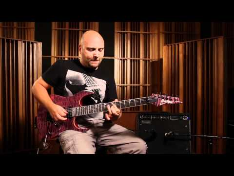 Marco Sfogli e Ibanez RG Premium - The Reaction