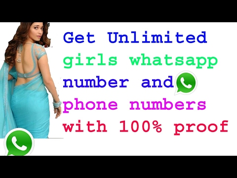 How to Get new Whatsapp Girls Number, Mobile Numbers - YouTube