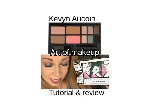 kevyn aucoin s art of makeup palette review tutorial youtube