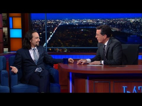 "Lin-Manuel Miranda Talks ""Hamilton,"" New York And His Influences"