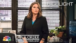 Benson Grieves for Simon - Law amp Order SVU Episode Highlight