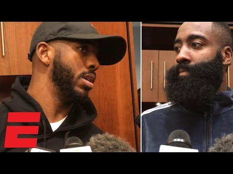 Chris Paul compliments Carmelo Anthony, James Harden talks win vs. Pacers  NBA Sound