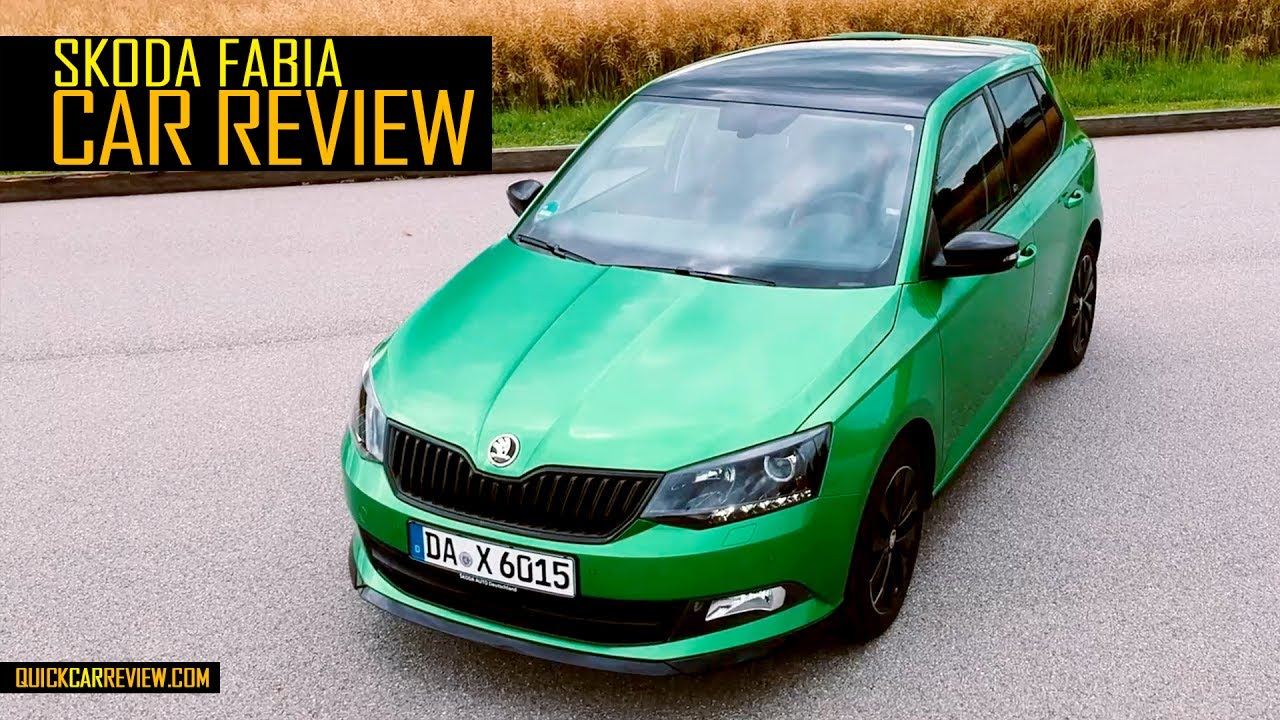car review 2017 skoda fabia monte carlo test drive youtube. Black Bedroom Furniture Sets. Home Design Ideas