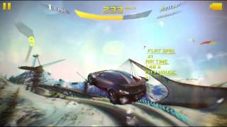 Asphalt 8 Airborne: Trick to do 4 flat spin in one jump (Alps)