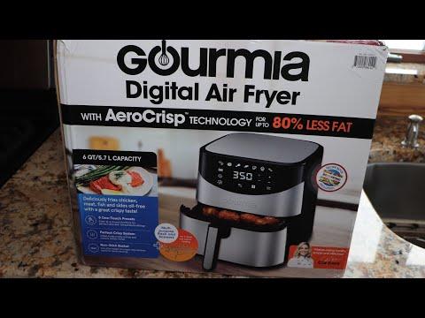 Gourmia 6 Quart Digital Air Fryer GAF 680 First Impressions