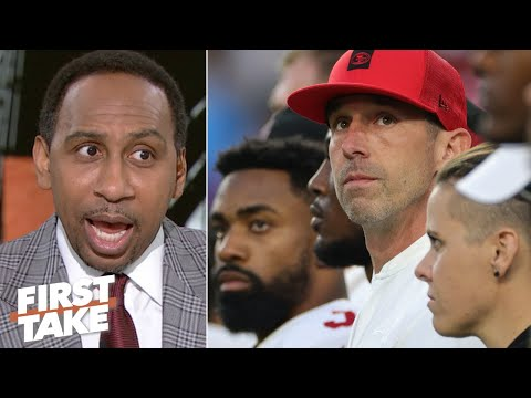 Stephen A.: 49ers Players Were Visibly Upset By Kyle Shanahan's Play-calls   First Take